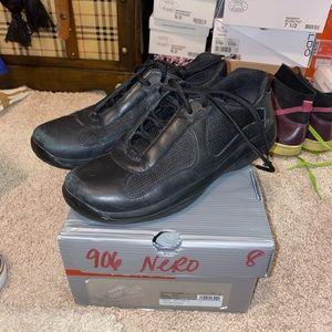 Prada Calzature Uomo black sneaker sz 8